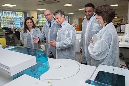 Patients to benefit from investment in pathology services in Manchester