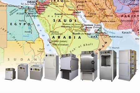 Autoclave range gains Saudi Food & Drug Authority approval